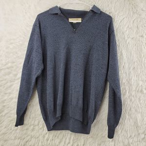 Pronto Uomo Merino Wool Blend Long Sleeve Sweater